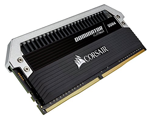 Corsair CMD32GX4M4A2666C15 Dominator Platinum DDR4 32 GB (4 x 8 GB ) 2666 MHz C15 XMP 2.0 Enthusiast Desktop Memory Kit