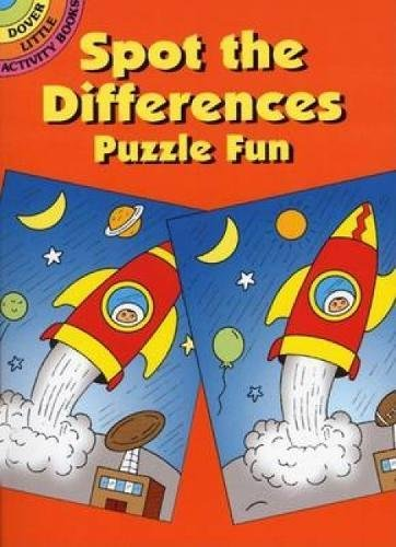 Spot the Differences Puzzle Fun (Dover Little Activity Books) por Fran Newman D'Amico