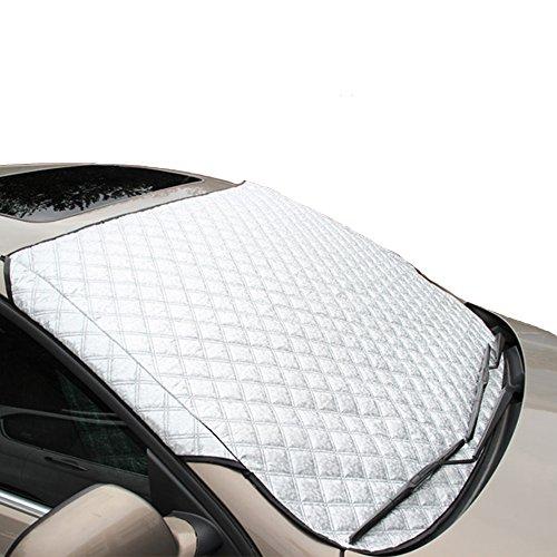 Preisvergleich Produktbild Windscreen cover, MAX-ELF Windschutzscheibe Cover, Windscreen Snow Blanket+Parasol External Plate Cover Mit zwei Anti Diebstahl Ohren
