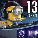 13Teen Minions 13. Geburtstag Karte