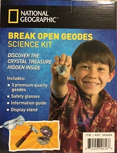 Break Open Geodes Science Kit by National Geographic