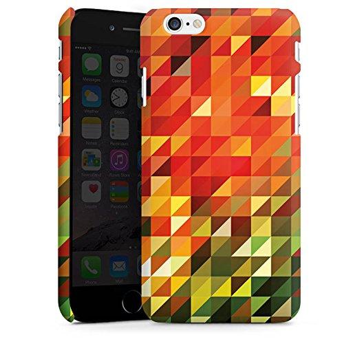 Apple iPhone X Silikon Hülle Case Schutzhülle Kristalle Herbst Abstrakt Premium Case matt