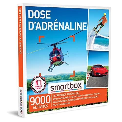 SMARTBOX - Coffret Cadeau homme femme - Dose d'adrénaline - idée cadeau - 9000...