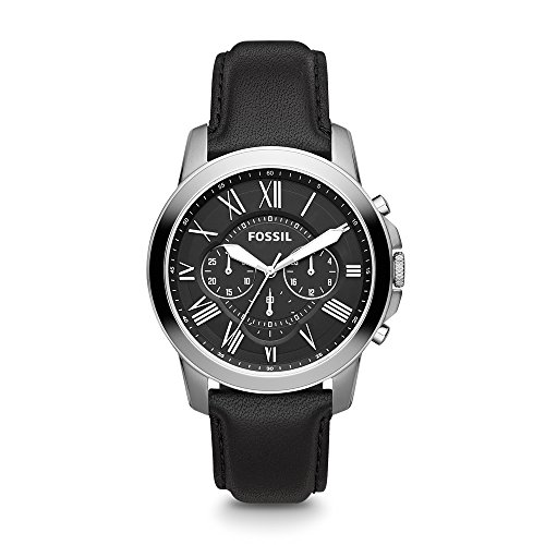 Fossil Grant Chronograph Black Dial Men's Watch - FS4812