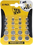 JCB Watch Battery (Standard Assortment) AG1 AG3 AG4 AG12 & AG13 Button Cells (20 cells)