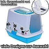 Katzentoilette Haube Katze - Sonderpreis Auslaufmodell inkl. Streuschaufel und Geruchsfilter