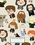 Composition Notebook: Harry Potter Composition Notebook, Soft Glossy Wide Ruled Journal with Ruled lined Paper for Taking Notes, Writing Workbook for ... kids. inexpensive gift for boys and girls
