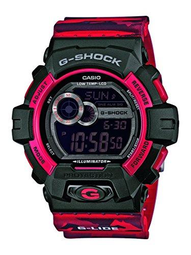 G-Shock Herren-Armbanduhr XL G-Shock Digital Quarz Resin GLS-8900CM-4ER
