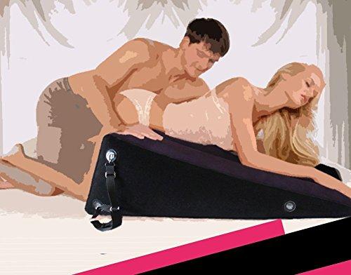 Multi Funktions Sex Möbel Aufblasbare Sex Kissen Ppositionierung für Paare (Purple)