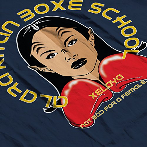 Alara Boxe Kitan Boxing School The Orville Womens Hooded Sweatshirt Navy blue
