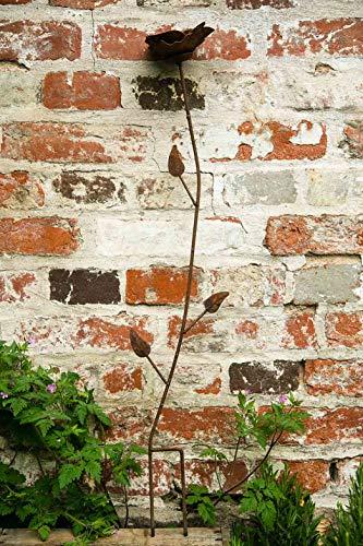 kuheiga Gartenstecker/Dekoblume Rose - 6