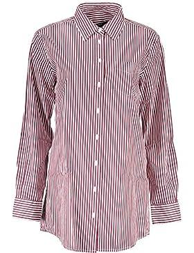 Gant 1403.432088 Camisa con Las Mangas largas Mujer Rojo 606 40