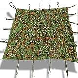 YANZHEN Rete Parasole Serre Antivento Protezione Solare Copertura Traspirante Camuffamento del Suolo Campeggio Giungla Mimetica Telo di Protezione Oxford, Misura 16