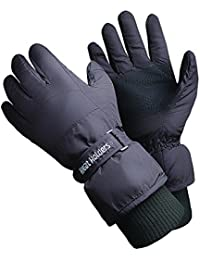 Heat Holders - Mens Extra Warm Padded Waterproof Insulated Thermal Winter Ski Gloves in 2 Sizes