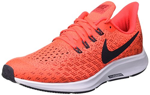 Nike Air Zoom Pegasus 35 (GS), Scarpe da Running Bambino, Blu (Bright Crimson/Gridiron/Gym Red 600), 36.5 EU