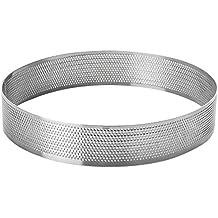 Lacor 68537 Cercle rond perforé Acier Inoxydable Gris 7 cm