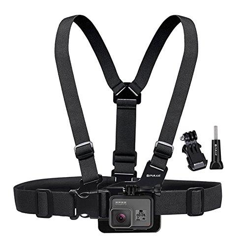 Fone-Stuff Sangle de Poitrine pour GoPro, Puluz® - réglable Harnais Confortable Montage pour Toutes Les éditions héros caméras