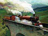 Wizarding World Harry Potter Hogwarts Express Landscape, 60 x 80 cm, Leinwanddruck