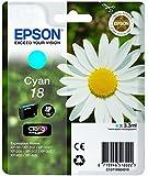 Epson C13T18024022 Cyan Original Tintenpatronen Pack of 1