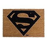 Fußmatte Fußabstreifer Schuhabtreter Schutzmatte aus Kokosfasern 40 x 60 verschiedene Motive (Superman)