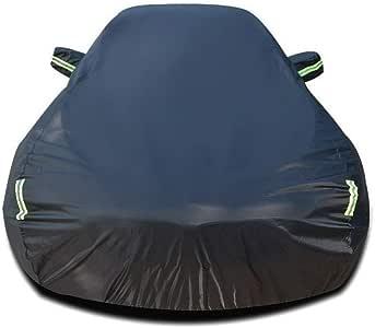 Color : Black-Single layer Compatible avec BMW X6 Couverture de voiture imperm/éable respirant /épais soleil protection pluie b/âche de protection toile jsmhh