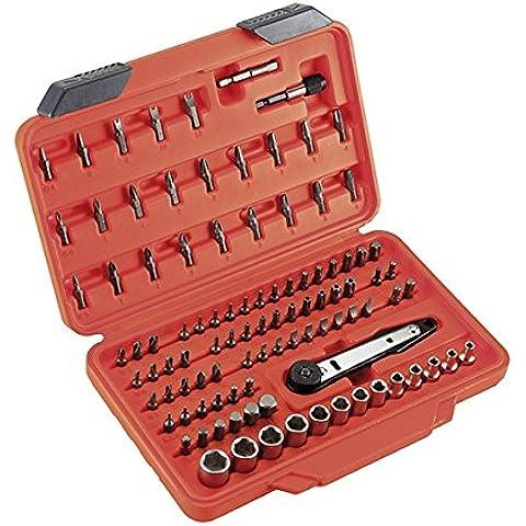 Alyco 170760 - Juego de puntas y llaves de vaso HR High Resistance 1/4 de 100 piezas en maletin