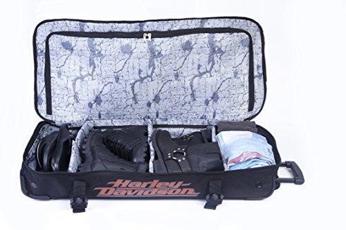 Harley Davidson 88,9cm sopra sotto borsone viaggio, Black (nero) - 99635 Black
