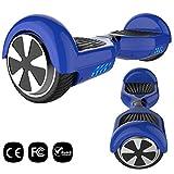 GeekMe Hoverboard 6,5 Pouces Gyropode Auto-équilibré Bluetooth Intégré - Scooter Electrique de Moteur Puissant Cadeau pour Enfants et Adultes