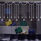 ALLDOLWEGE Decoración del hogar creativo cordón ventana cortina de baño baño de arte de pared de vidrio adhesivos balcón ventanas puerta corrediza sticker anticollisiondecorations ,35*50cm.