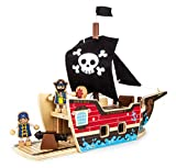Small Foot Company 9538 - Puzzle - Bausatz -Piratenschiff