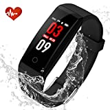 YOUNGDO Fitness Tracker, Orologio Fitness,Activity Tracker con Cardiofrequenzimetro da...