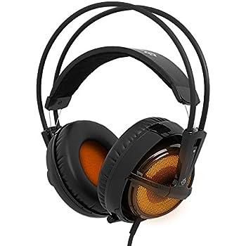 Steelseries Siberia V2 Binaural Head-band Black,Orange headset - Headsets (PC/Gaming, Binaural, Head-band, Black, Orange, Wired, 3 m)