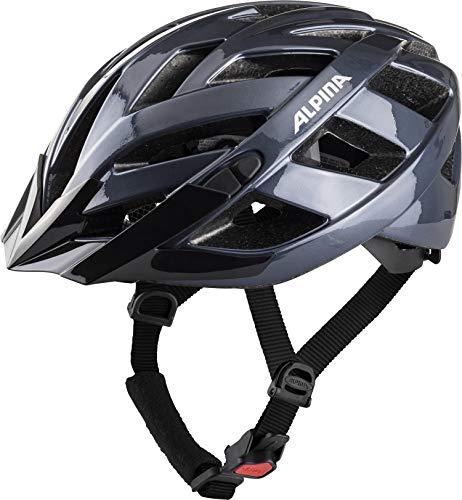 Alpina Unisex- Erwachsene PANOMA Classic Fahrradhelm, Indigo, 52-57 cm