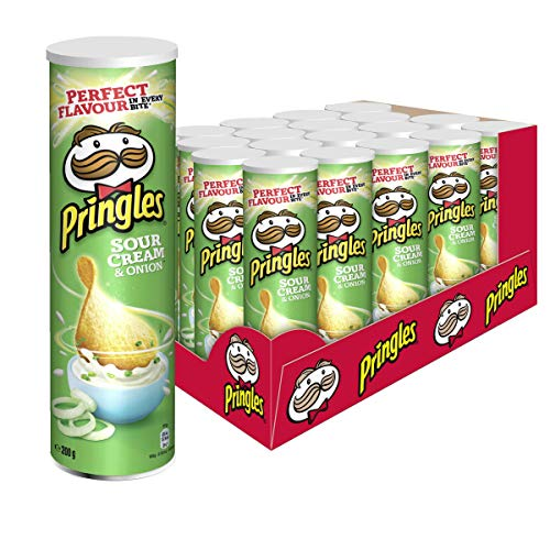 Pringles Sour Cream & Onion Chips, 19er Pack (19 x 200 g) (Cream Onion Chips Sour)
