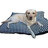 Milanino XXL Hundekissen für große Hunde   beidseitiges Kissen   Hundebett   Hundematte   Hundematraze (Groß)
