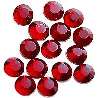 Rhinestones Del Flatback 20 Bruto / 2880pcs Del Arreglo Caliente De Hierro En 3,8 - 4 Mm - Color Rojo Oscuro