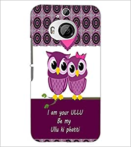 Printdhaba Loving Owls D-3978 Back Case Cover For Htc One M9 Plus
