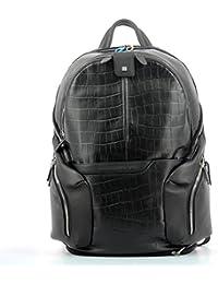 Piquadro Coleos S05 - Sac à dos cuir 42,5 cm compartiment ordinateur portable