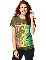 Zumba Fitness Official Kingston T-Shirt Femme