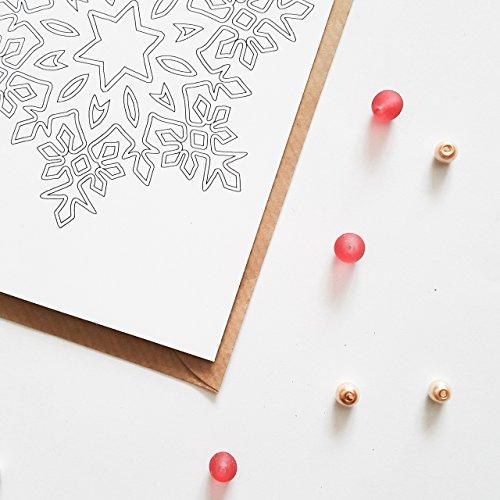 Frohe Weihnachten Zum Ausmalen.Weihnachtskarten Zum Ausmalen 10 Karten Set Frohe Weihnachten