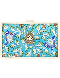 Puneet Gupta Women's Clutch (Blue)