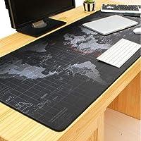 Creative World Map Computer Mousepad Mouse Pad Mouse Mat Matt Pad Anti-Slip Gaming