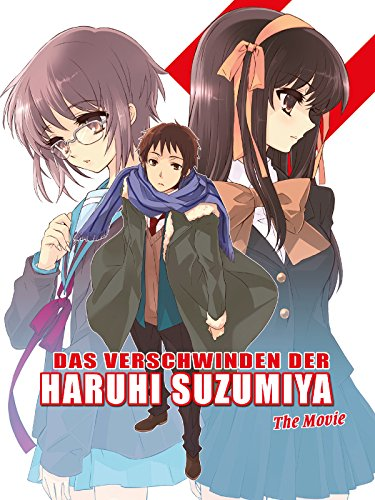 Das Verschwinden der Haruhi Suzumiya - The Movie Cover