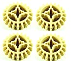 LEGO Technic 32269 - 4 beige Zahnräder 20 Zähne Rad Technik