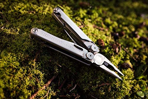 Leatherman - Wave Plus, Argento con fodero in nylon