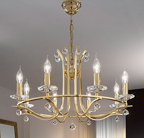 montblanc-chandelier-in-chrome-plated