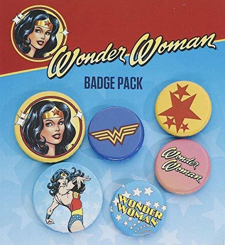 GB eye Ltd, DC Comics, Wonder Woman Mix, Set de Broschen -