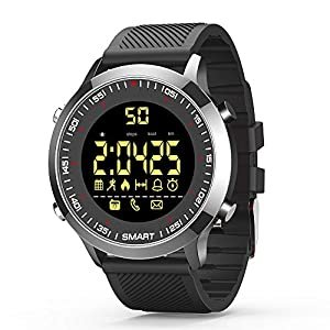 Smart Watches Bluetooth Fitness Trackers Smart Watch EX18 With Pedometer Stopwatch For Men Women Compatible with Android iOS Phones