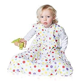 1-3 Years Old Toddler Sleeping Baby Bag Sack Split Leg W// Removable Sleeves Blue