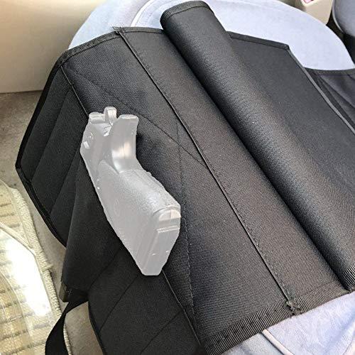 Hihey Universal Pistolenhalfter Verdecktes Unter-Sitz Ersatztasche für den Auto-Schreibtischsitz Versteckte Trageweise -